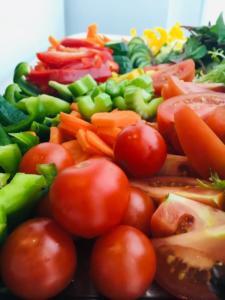 zeleninová mísa - detail